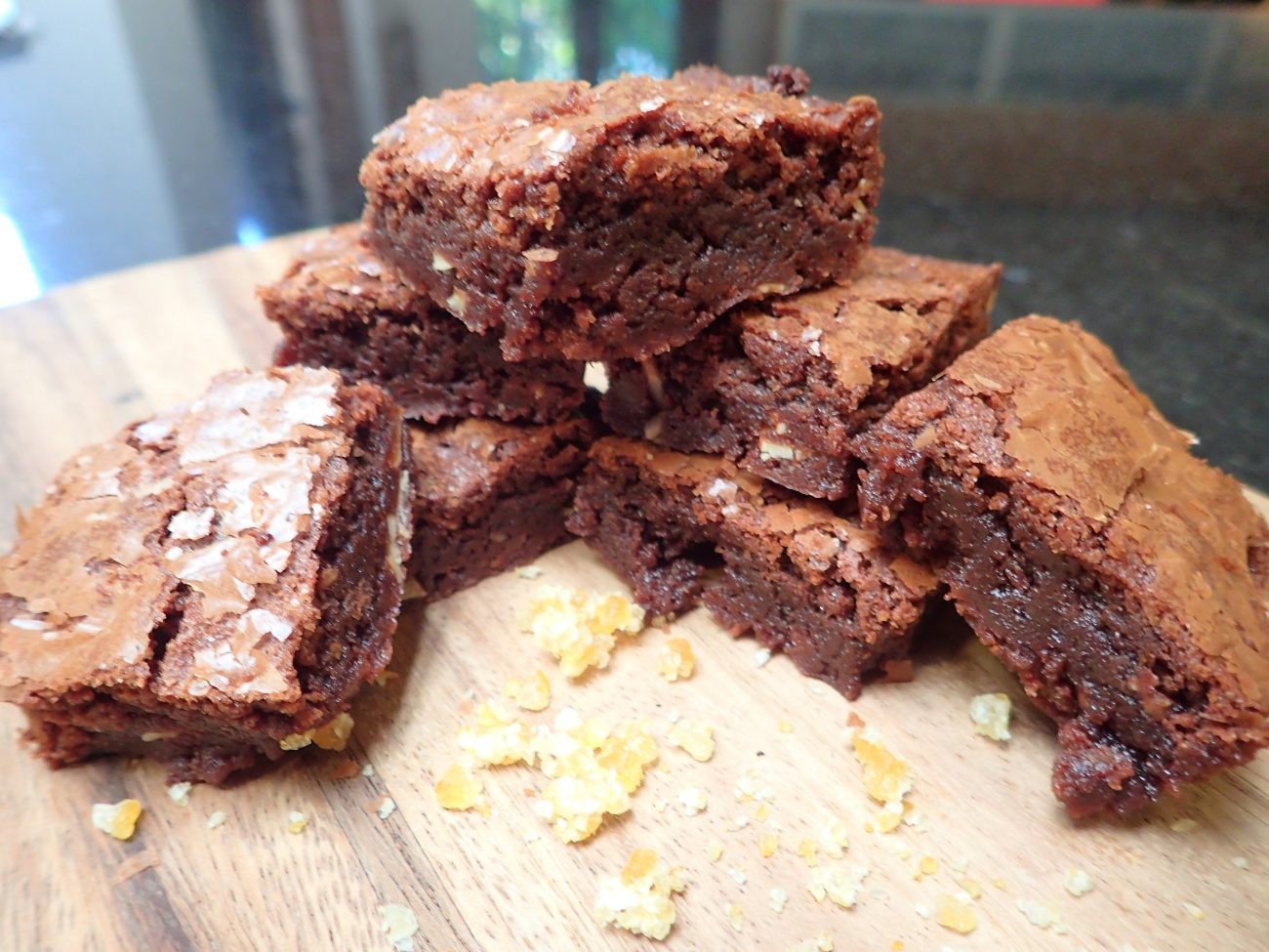 Brownie Fudgy con sabor a Naranja