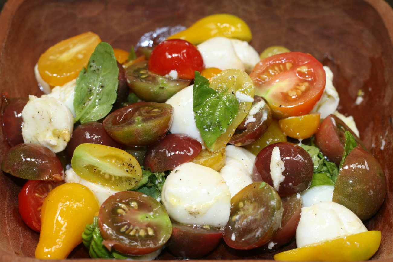 Ensalada Caprese Reloaded